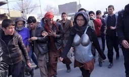 Afghan artist dons armour to counter men's street harassment - The Guardian | Performance Art Is Live | Scoop.it