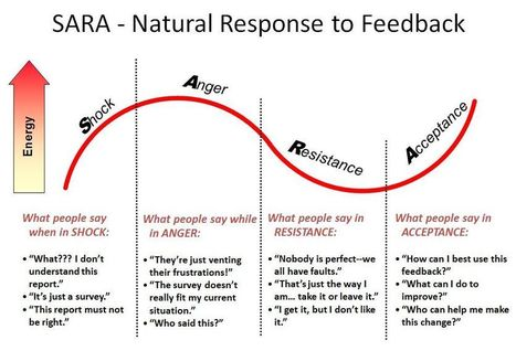 Using the SARA Model to Learn from 360-Degree Feedback | DecisionWise Leadership Intelligence Blog | Delivering and Receiving Feedback | Scoop.it