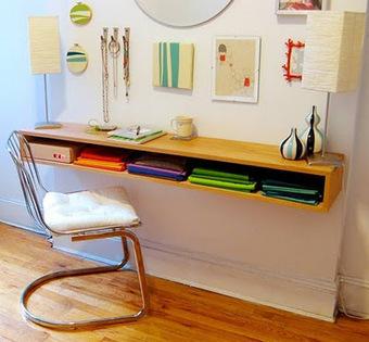 DIY : fabriquez un bureau suspendu... | DIY | Scoop.it