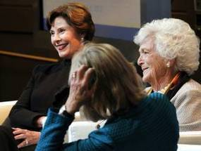 Barbara Bush bashes 2012 presidential contest in first ladies conference at SMU   Dallas-Fort Worth Communities - News for Dallas, Texas - The Dallas Morning News   Gender, Religion, & Politics   Scoop.it