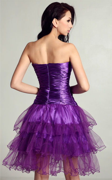 Cheap Ever Miss 1008 Strapless Purple Sexy Tulle Sexy Short Homecoming Dresses [Cheap Ever Miss 1008] - $181.00 : 2014 Hot Sale Dresses | Party Dresses Discount for Prom | 2013 north face jackets for anybody | Scoop.it
