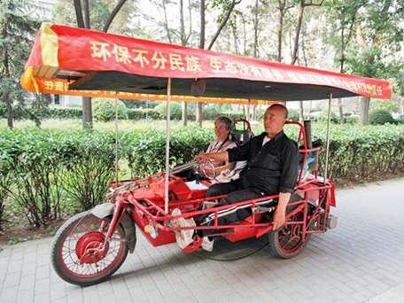 Retired Couple to Travel Around the Wold on Solar Powered Electric Tricycle | Sustain Our Earth | Scoop.it