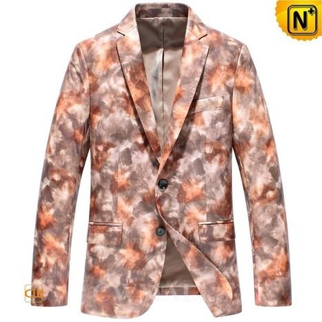 CWMALLS Lambskin Leather Blazer CW816128 | Leather Blazer Jacket | Scoop.it