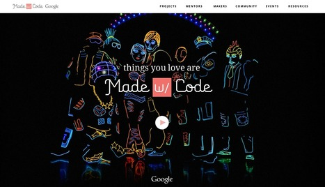 Google launches Made with Code to help girls learn to build technology - Los Angeles Times | tech for teachers | Scoop.it