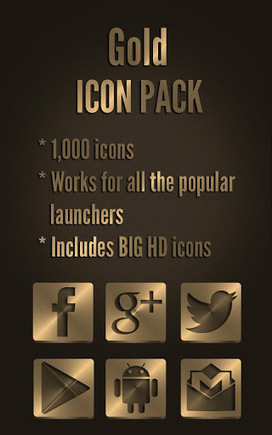 Icon Pack Gold v1.8 | ApkLife-Android Apps Games Themes | Android Applications And Games | Scoop.it