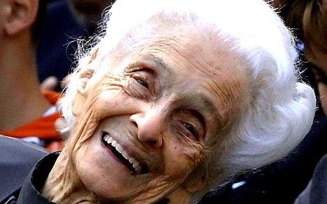 Rita Levi-Montalcini, l'infatigable Prix Nobel de médecine, s'est éteinte | Le BONHEUR comme indice d'épanouissement social et économique. | Scoop.it