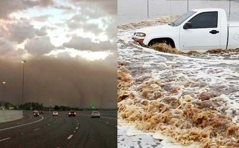 Phoenix Hit With Massive Dust Storm, Followed By Wettest Day Ever Recorded | Sustain Our Earth | Scoop.it
