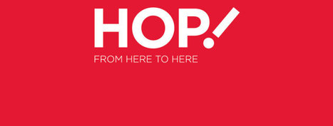 Air France-KLM  reveals name and logo new airline: HOP!   Corporate Identity   Scoop.it