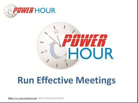 Effective Meetings | Online HIPAA Training Resources | Scoop.it