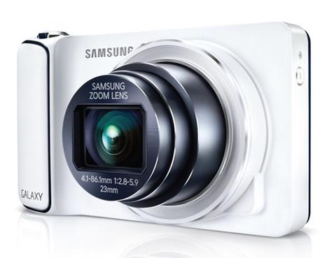 Samsung Galaxy Camera EK-GC100 - Bianca - 16MP   Samsung Galaxy S4 Zoom 16-megapixel   Scoop.it
