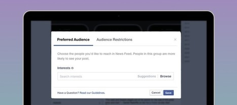 Introducing Audience Optimization for Publishers | Facebook Media | Marketing and Creative Services | Scoop.it