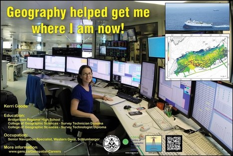 Geographic Education and Geospatial Related Careers | GIS | Scoop.it
