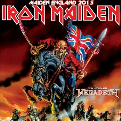 IRON MAIDEN, MEGADETH TO PLAY SEVEN U.S. SHOWS IN SEPTEMBER | For those about the Rock | Scoop.it