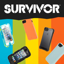 Survivor Cases for iPhone, iPod touch, iPad and Kindle | Griffin Technology | C'est du solide | Scoop.it