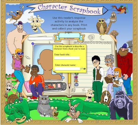 Character Scrapbook | Interactive Whiteboard Gems | Scoop.it