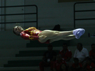 México, oro en gimnasia de trampolín