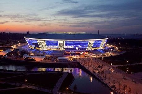 Donbass Arena, Donetsk, Seating Plan | Football Stadium Guides | Scoop.it