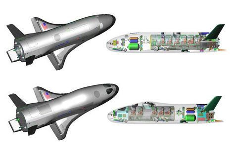 One Per Cent: Hypersonic X-37 spaceplanes 'could carry astronauts' | Creating the Future | Scoop.it