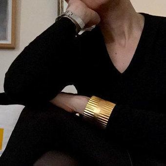 La manchette Alexandra de 4 crosses sur comptoirdesfilles.com - Comptoir des Filles | Comptoir des Filles | Scoop.it