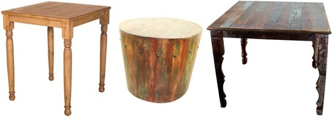 Fabulous Rustic Kitchen Table To Decor Your Kitchen Area!!!   Mexican Furniture & Decor   Scoop.it