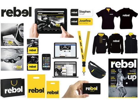 New Identity for Rebel (Apparel, Australia) | Corporate Identity | Scoop.it