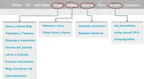 Estructura de transición en Manos y Mente Art Community | Red Social de Manos y Mente | Scoop.it