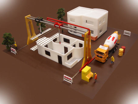 Giant 3-D Printer to Make An Entire House in 20 Hours | Amazing Science | Scoop.it