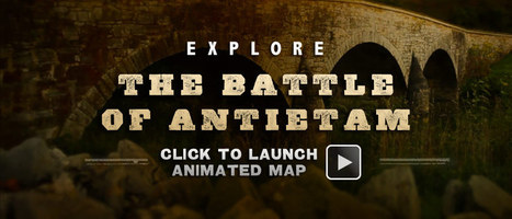 Antietam Animated Map | History & Maps | Scoop.it