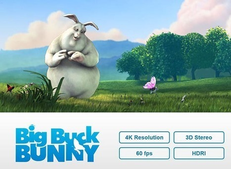 Big Buck Bunny in 4K 2D e 3D - AV Magazine (Comunicati Stampa) | blender | Scoop.it