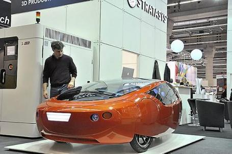 World's first 3D-printed car will move from 3D printer to road soon | Amazing Science | Scoop.it