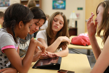 Tablettes à l'école: «Il ne faut pas se contenter de picorer»   apprentissages multimédias via Tab   Scoop.it