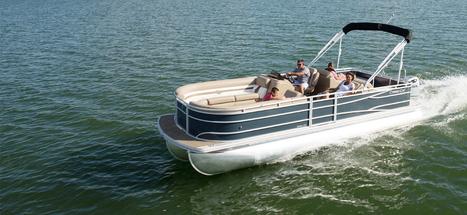 Cabana 240 Series Pontoon Boat   New Pontoon Boats   Pontoon Boats Dealers and Manufacturers : 2014   Pontoon Boats   Scoop.it