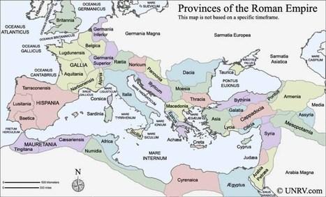 Provincias Imperio Romano | Clàssiques | Scoop.it