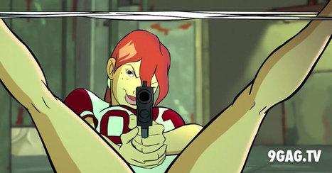 """Riding Shotgun"" - An Ultra Sexual, Ultra Violent, Ultra Great Cartoon (NSFW)   9gag.tv   Rôzne zaujímavé články   Scoop.it"