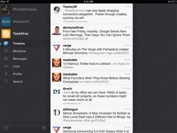 Fix This App: Twitter | TechHive Beta Blog | How to Use an iPhone Well | Scoop.it
