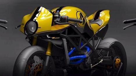 Paolo Tesio Brings a New Curvy Ducati Concept | Ductalk | Scoop.it