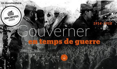 Gouverner en temps de guerre -Éduscol HG | Centenaire Première Guerre mondiale - Académie de Rennes | Scoop.it
