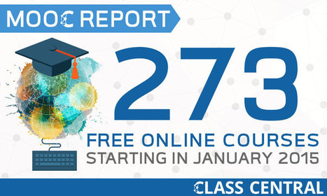 MOOC Course Report: List of 273 Free Online Courses Starting in January 2015   Social Media 4 Education   Scoop.it