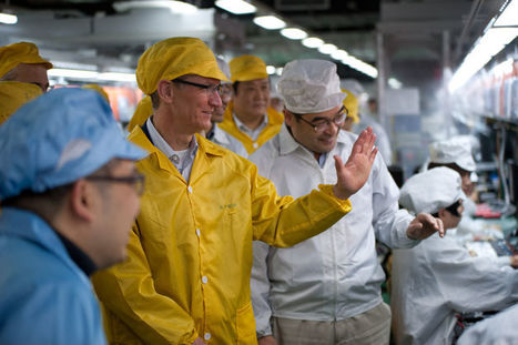 """Over 3,000 Foxconn Workers on iPhone Production Line Go On Strike After New """"Strict Demands""""   Global Logistics Trends and News   Scoop.it"""
