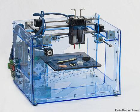 Bedrijven vol in productie 3D-printers   3D Printing news (related to 3Dprinterblog.nl)   Scoop.it