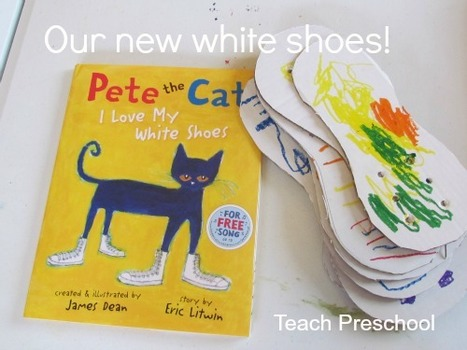 Our new white shoes | Teach Preschool | Scoop.it