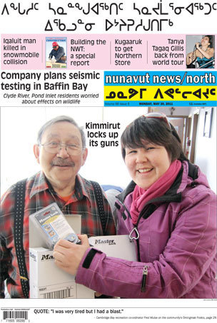 Headlines for #Nunavut News North for May 30th 2011 | Inuit Nunangat Stories | Scoop.it