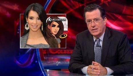 Stephen Colbert Gives Kim Kardashian's Video Game The Shredding It So RichlyDeserves | Winning The Internet | Scoop.it