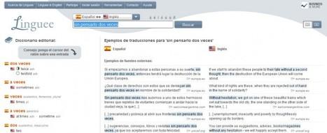 linguee – Nueva versión del diccionario bilingüe más grande del mundo | Recull diari | Scoop.it