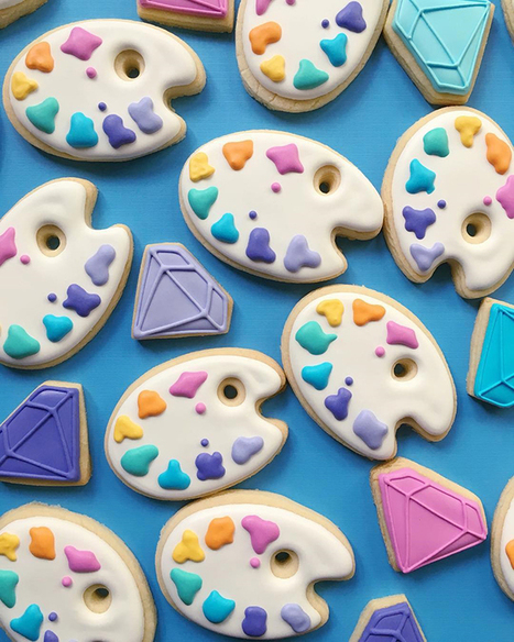 This Graphic Designer Uses Her Design Skills To Make The Most Awesome Cookies | xposing world of Photography & Design | Scoop.it