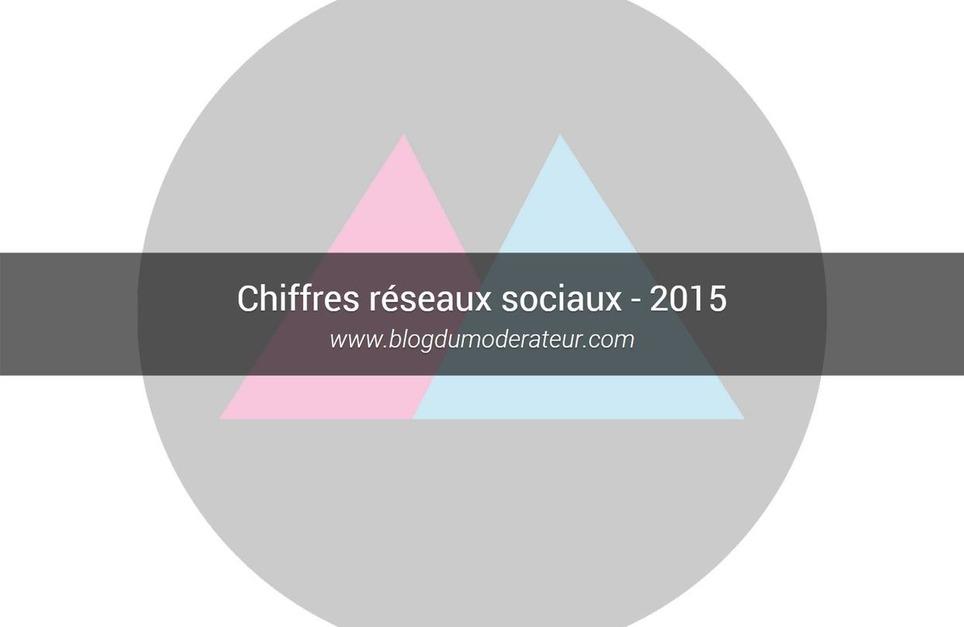 Chiffres réseaux sociaux - 2015 - #SocialMedia | Les Médias Sociaux pour l'entreprise | Scoop.it
