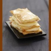 Mille-feuille au Rocamadour | The Voice of Cheese | Scoop.it