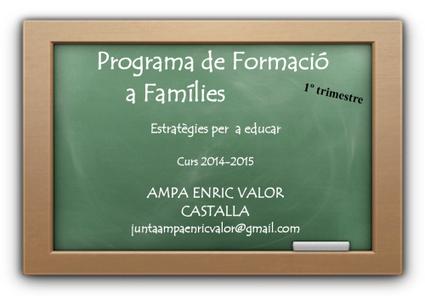Progama de formació a famílies | Escuela en familia | Scoop.it