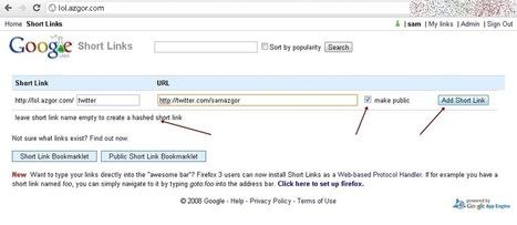 Make Own URL Shortening Service with Google Short Links | Tutorial for beginners | Scoop.it