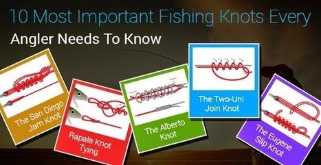 10 major Fishing Knots for fishing Anglers | Fishing Spot App | Scoop.it